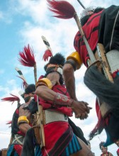 The 10-day festival showcases a spectacular array of dramatic tribal dances and performances.