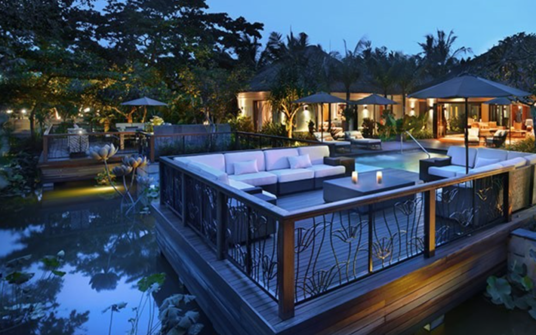 A large, tropical retreat in Bali