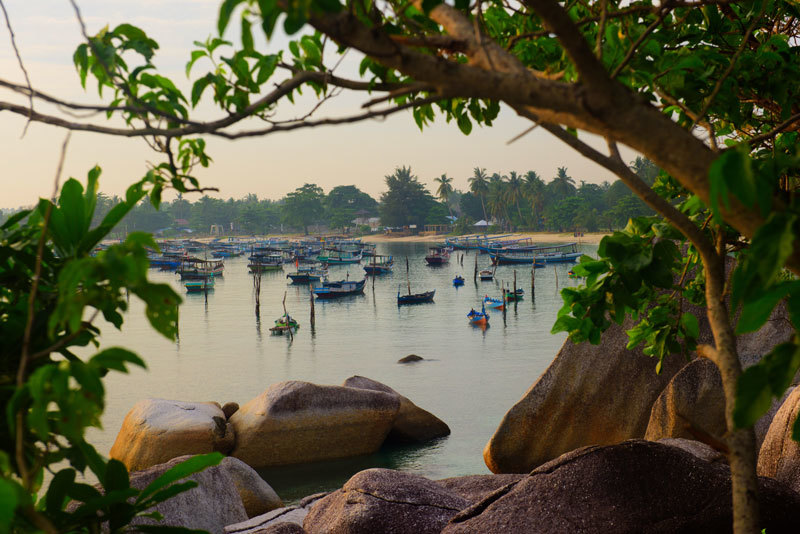 Travel to Belitung for Beaches, Boulders and Books